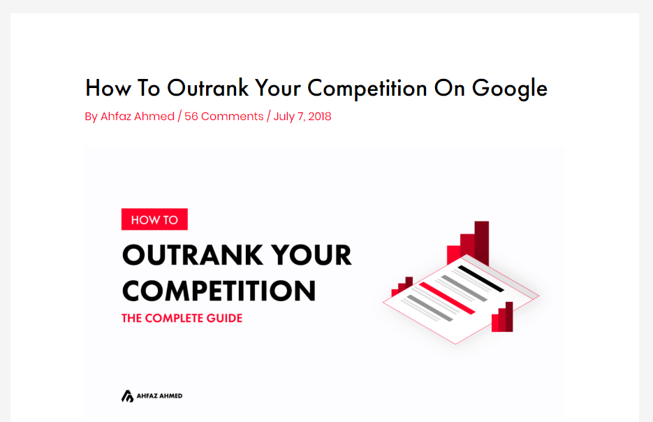 Outrank Your Competition - Post