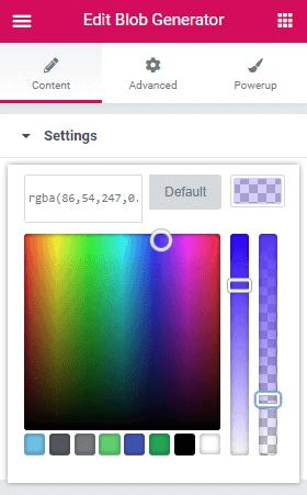 EDP - Blob Color