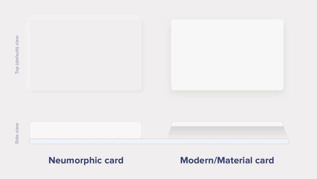 Neumorphic Cards